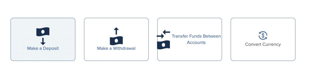 Para transferi menüsü