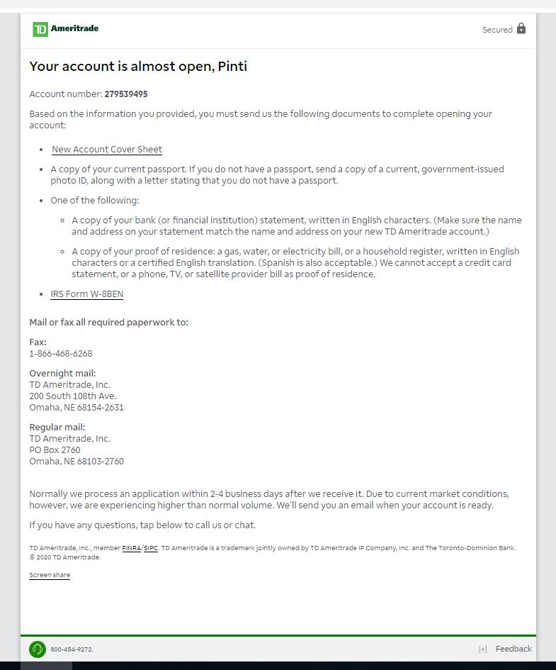 Hesap açılışı - sözleşmeler (2)