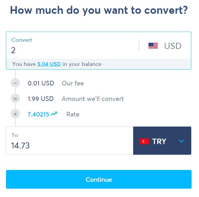 Para dönüşümü maliyeti
