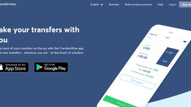 TransferWise Çoklu Para Hesabı ve TD Ameritrade