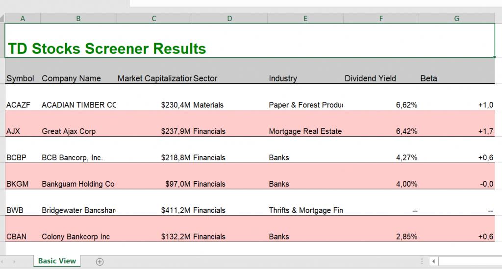 Tarama sonucunu Excel'e aktarma - I