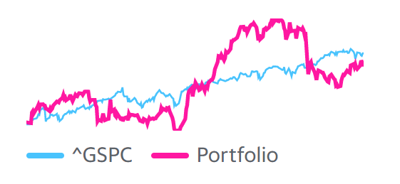 Portföy'ün S&P500'e karşı performansı -21/05/2021